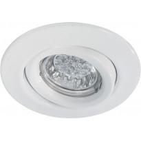 Alasvalo Quality LED 1W, suunnattava, 51mm, valkoinen