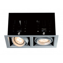 Alasvalo Premium Cardano LED 2x4W, titaani