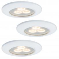 Alasvalo Premium Pearly LED 3x7,5W, 100mm, valkoinen