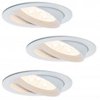 Alasvalosarja Premium Albina LED 3x7,2W, 125mm, valkoinen
