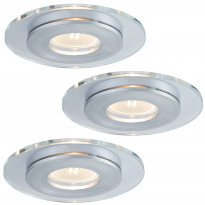 Alasvalosarja Premium single Shell LED 3x3,5W, 120mm, harjattu alumiini