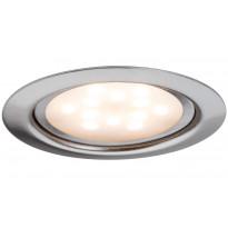 Kalustevalaisin Micro Line LED 4,5W, 65mm, harjattu teräs