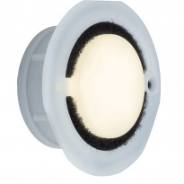 Alasvalo Special LED 1,4W, 3000K, 76mm, opal