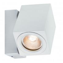 Seinävalaisin Special 360° Cube Flame LED 1x7W, valkoinen