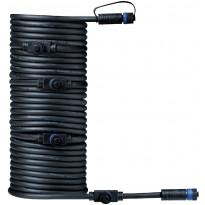 Liitosjohto Paulmann Plug & Shine, 5 valaisimelle, IP68, 10m