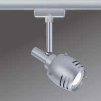 LED-kiskovalaisin Paulmann URail Rumas Ø 55x115 mm mattakromi