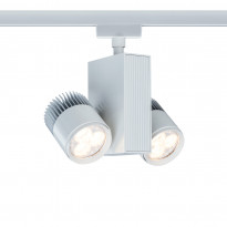 LED-kiskovalaisin Paulmann URail TecLed 170x160x85 mm 2-osainen valkoinen