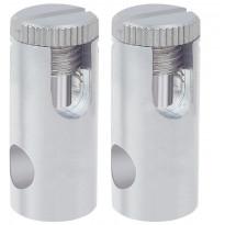 Vaijerijärjestelmän virtaliitinpari Paulmann 12V 300W 6 mm² mattakromi