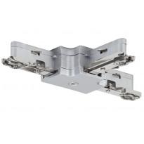 Liitin Paulmann T-haara URail T-Connector 36x29 mm mattakromi