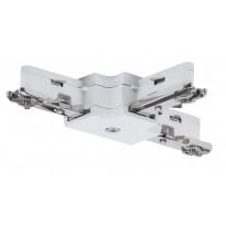 Liitin Paulmann T-haara URail T-Connector 36x29 mm valkoinen