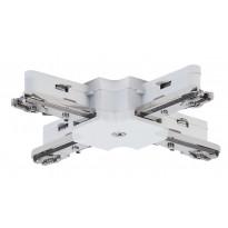 Liitin Paulmann X-haara URail X-Connector 36x36 mm valkoinen