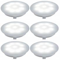 Alasvalosarja Special UpDownlight LED 6x1W, 45mm, matta