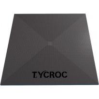 Märkätilalevy lattiaan ilman kaivoa Tycroc ST100, 1000x1000x20mm