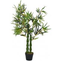 Tekokasvi bambu ruukulla vihreä 110 cm
