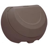 Hiekka-astia UK-Muovi Greeny 120 l, ruskea