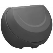 Hiekka-astia UK-Muovi Greeny 450 l, harmaa
