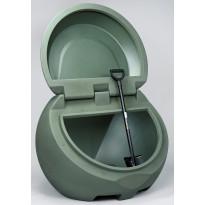 Hiekka-astia UK-Muovi Greeny 450 l, vihreä