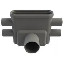 Viemärikaivo 1413 vaaka 75mm vesilukolla Unidrain
