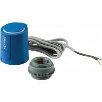 Jakotukin toimilaite Uponor Vario Plus Pro, 24V, 1W, NC, VA02, MT, 30x1,5mm