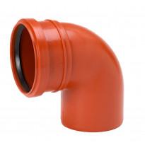 Maaviemärin kulmayhde PVC 250x87,5°
