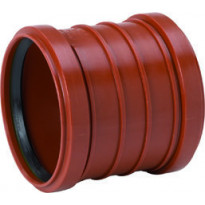 Maaviemärin kaksoismuhviyhde PVC 250 mm