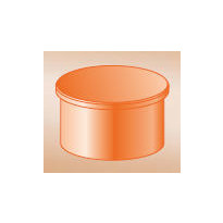 Maaviemärin tulppa PVC 200 mm