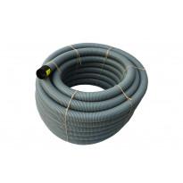 Asennusputki Uponor 65 50M, PVC, reiätön, harmaa