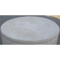 Kaivonkansi, ø 600 mm, umpinainen, uurreliitoksella, uroshuullos
