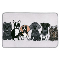 Matto Vallila Doggies, 50x80cm, beige