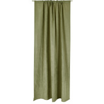 Sivuverho Vallila Royal, 140x250cm, vihreä