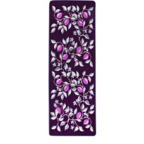Matto Vallila Sitruuna, 80x250cm, purple