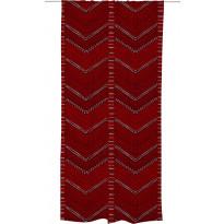 Sivuverho Vallila Veera, 140x240cm, punainen
