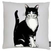 Tyynynpäällinen Vallila Kitties, 43x43cm, harmaa