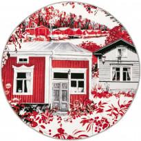 Matto Vallila Kokkola, Ø133cm, punainen