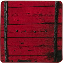 Matto Vallila Hirsi, 80x80cm, punainen