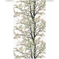 Sivuverho Vallila Omenapuu, 140x250cm, pinkki