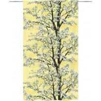Sivuverho Vallila Omenapuu, 140x250cm, keltainen