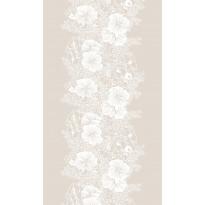 Pöytäliina Vallila Elle-kukka, 145x250cm, clay