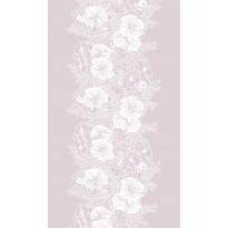 Pöytäliina Vallila Elle-kukka, 145x250cm, mauve