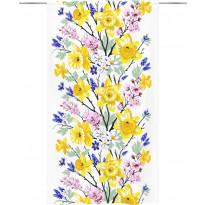 Sivuverho Vallila Kevätjuhla, 140x250cm, valkoinen