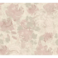 Kuitutapetti Vallila Make Up 367724, 0.53x10.05m, vaaleanpunainen