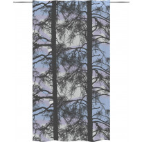 Sivuverho Vallila Kelohonka, 140x250cm, sininen