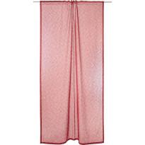 Sivuverho Vallila Aamu, 140x250cm, punainen