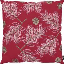 Tyynynpäällinen Vallila Havu, 43x43cm, punainen