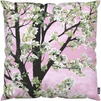 Tyynynpäällinen Vallila Omenapuu, 43x43cm, vaaleanpunainen