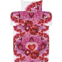 Pussilakanasetti Vallila Queer, 150x210cm, vaaleanpunainen