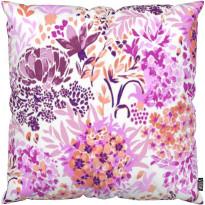 Tyynynpäällinen Vallila Malva, 43x43cm, vaaleanpunainen