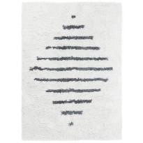Matto Vallila Mehiläispesä, 200x300cm, valkoinen