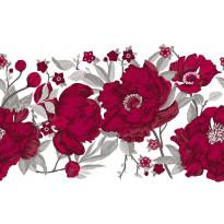 Kappaverho Vallila Rakkaustarina, 60x250cm, punainen