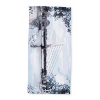 Kylpypyyhe Vallila Kanava, 70x140cm, sininen